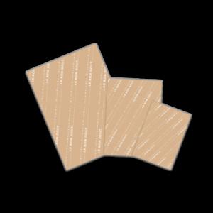 Papier mousseline brun 1 couleur