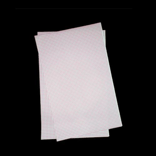 Papier duplex vichy rose 33x50 cm