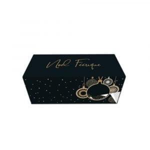 Boîte à bûche Noël Féérique