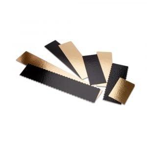 Assortiment de tailles des plaques SEMELOR Or/Noir