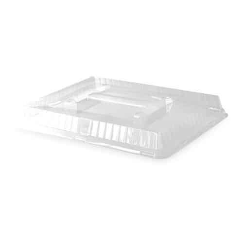 Couvercles transparents pour plateaux repas 340 x 250 x 45 mm
