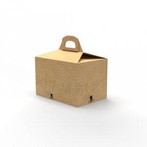 Boîte Click&Collect de taille 29x20x19 cm