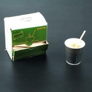Agitateurs en bois, une fine lamelle de bois pour touiller le café et se réveiller