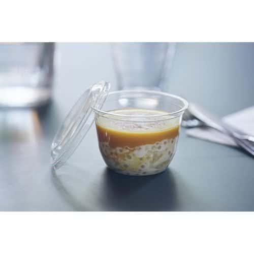 Coupe dessert taille S 235 ml en plastique transparent