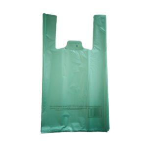 Sac à bretelles 26+12x45 cm vert